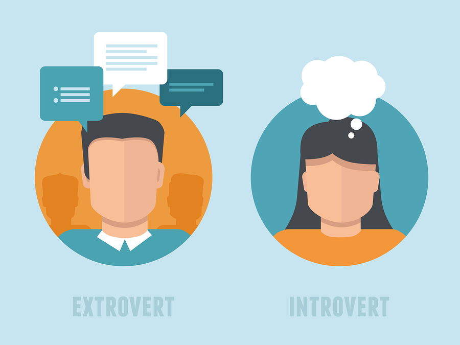 extroverted introverted people Introverts are often misunderstood and undervalued in our mostly extroverted it is estimated that between 40-60% of people fall on the introverted.