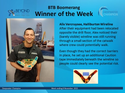 Recognition on the DWC has Boomerang Effect