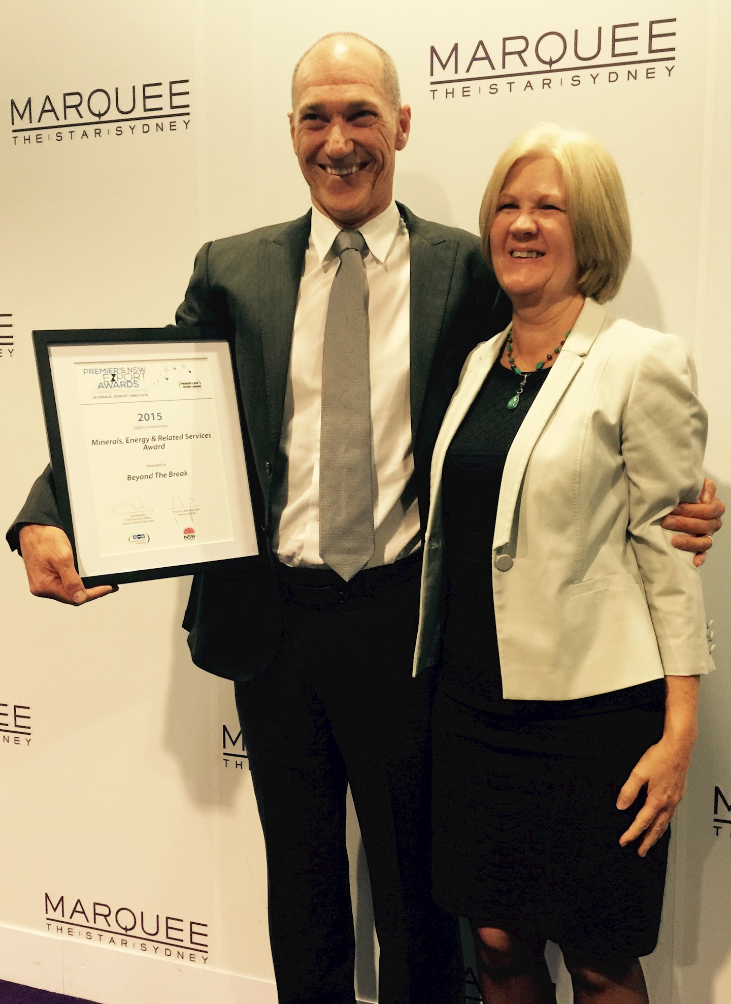 Export Council of Australia: Premier's Award