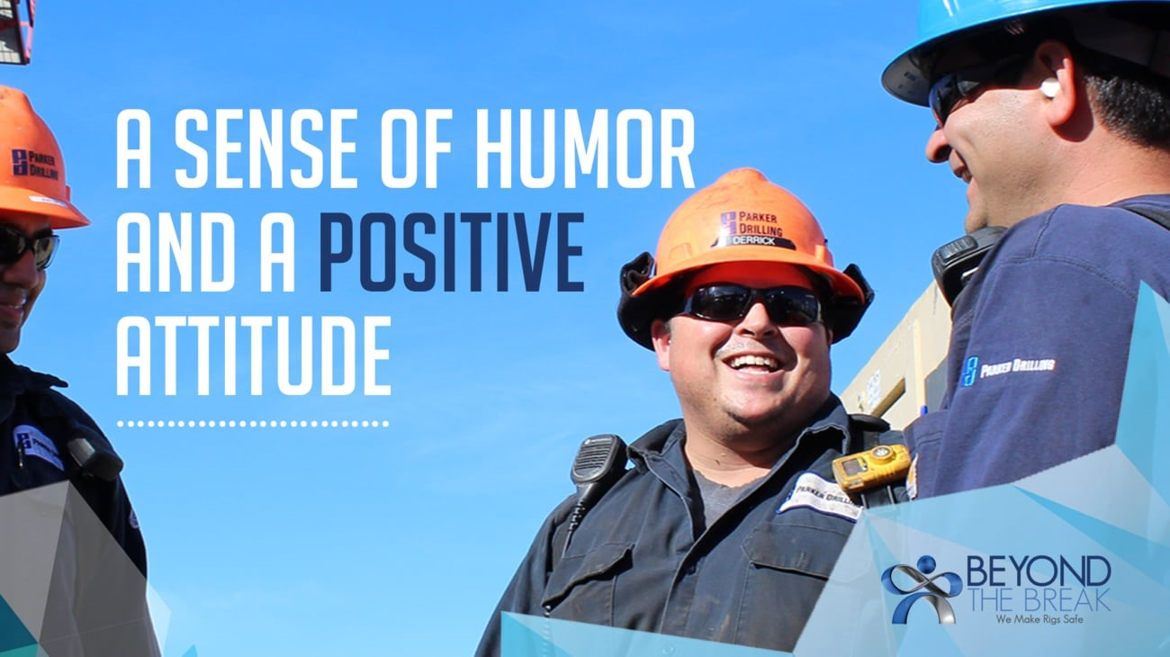 A Sense of Humor And A Positive Attitude