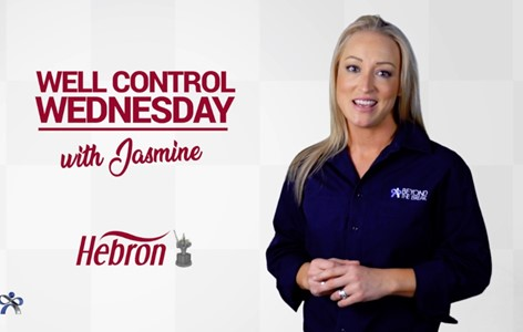 Well Control Wednesday - Hebron